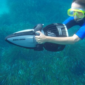 Snorkel con Sea Scooter